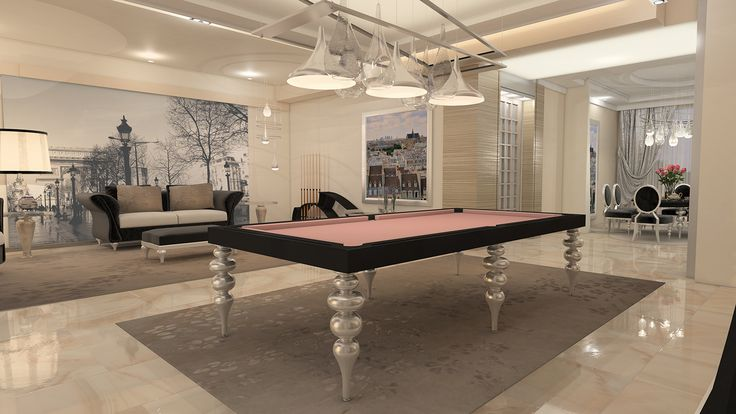 Billiard Table, Dinner Billiard Table, Pool Billiard, Biliardo Tavolo - Parigi by MBM biliardi.