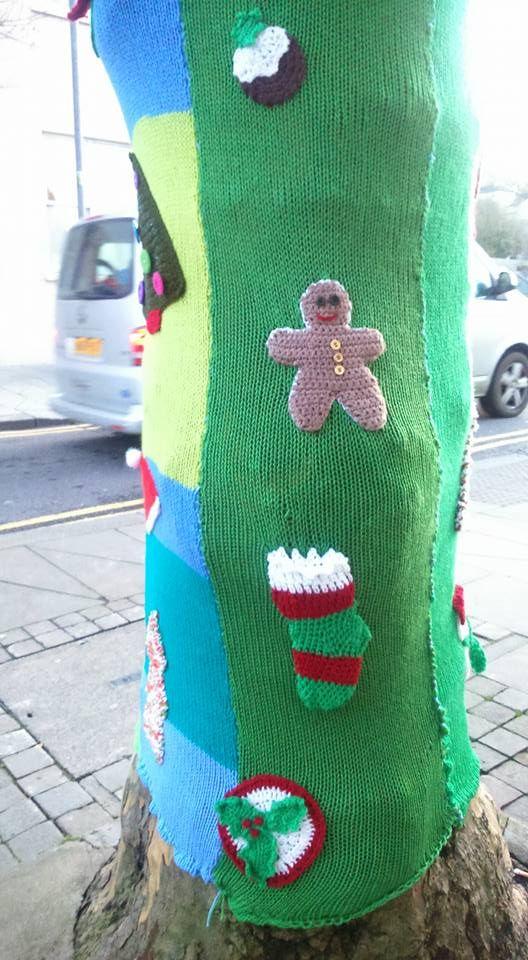 Yarn bomb by Gina