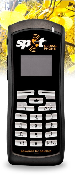 Spot Satellite Global Phone. If you're ultra-prepared, or have a spouse that would like to know you're reachable in case of emergency - this is for you. Sweet satellite phone.