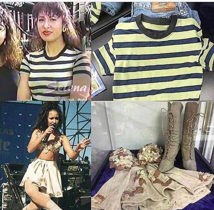These outfits are currently at the Selena museum