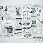 Afrikaans Nostalgia paper placemats (pack of 24)