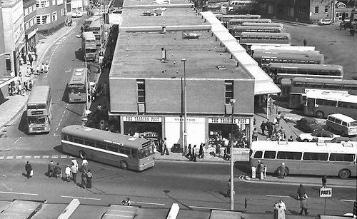 Barnsley Bus Station 8th May 1976 {F870] | cairavon | Flickr