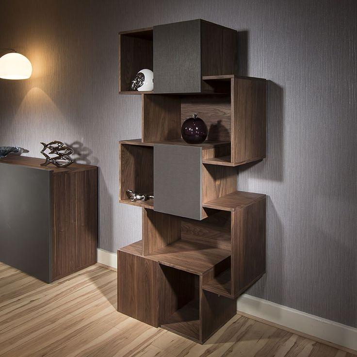 Brand new design for 2015.  Walnut and grey contemporary design.