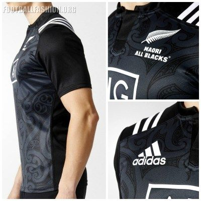 Maori All Blacks 2016 2017 adidas Rugby Jersey, Shirt, Kit