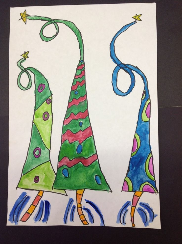 5th grade holiday art lesson   5th grade archives art