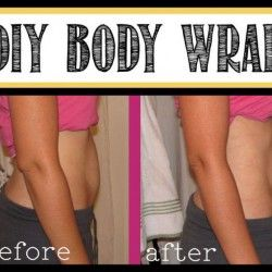 DIY Body Wrap ...lose up to 1-2 inches per night.