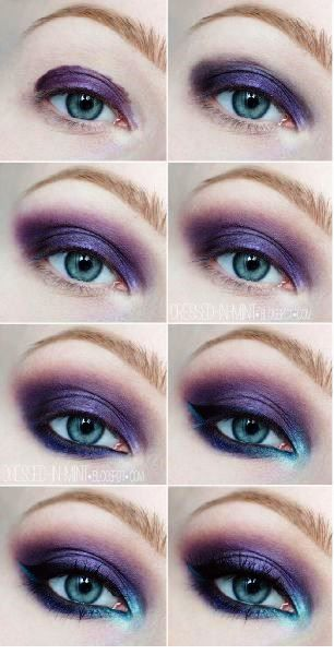 Make up for droopy eyes. Perhaps the Urban Decay Vice2 palette could do the job. Quirky
