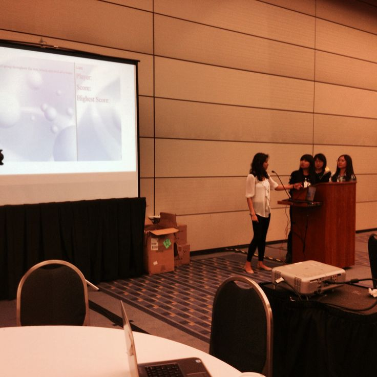 It's lovely to see the final projects of the teams at the International Women's Hackathon in D.C!