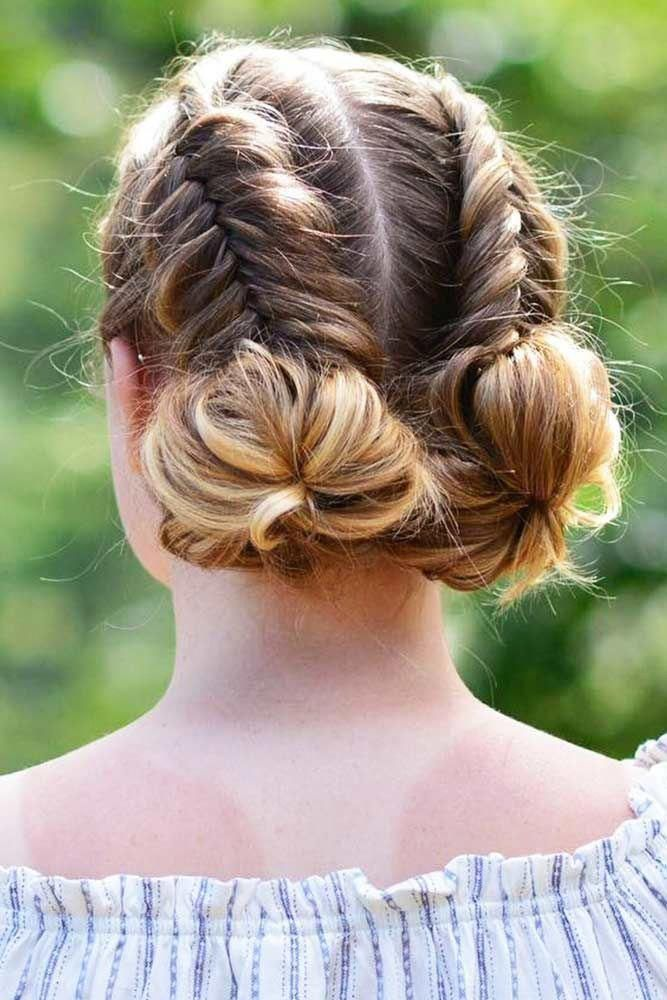 braid hairstyles for sports Workouts #goddessbraid… – #boxerbraids #Braid #god…