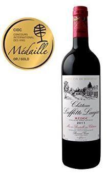 CHATEAU LAFFITTE LAUJAC – Grand Vin Rouge Bordeaux – 88/100 – Cru Bourgeois en 1932- AOP Médoc 2011: MEDAILLE D'OR Concours International…