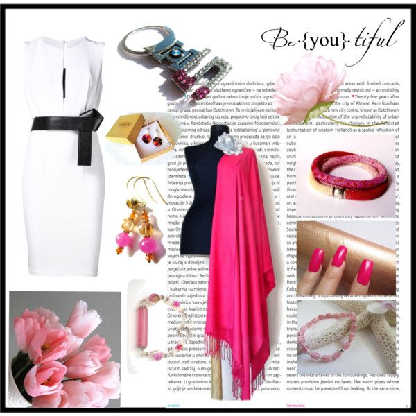 Beautiful pink by torijaink on Polyvore featuring moda, KaufmanFranco, BMW, Oris and etsy
