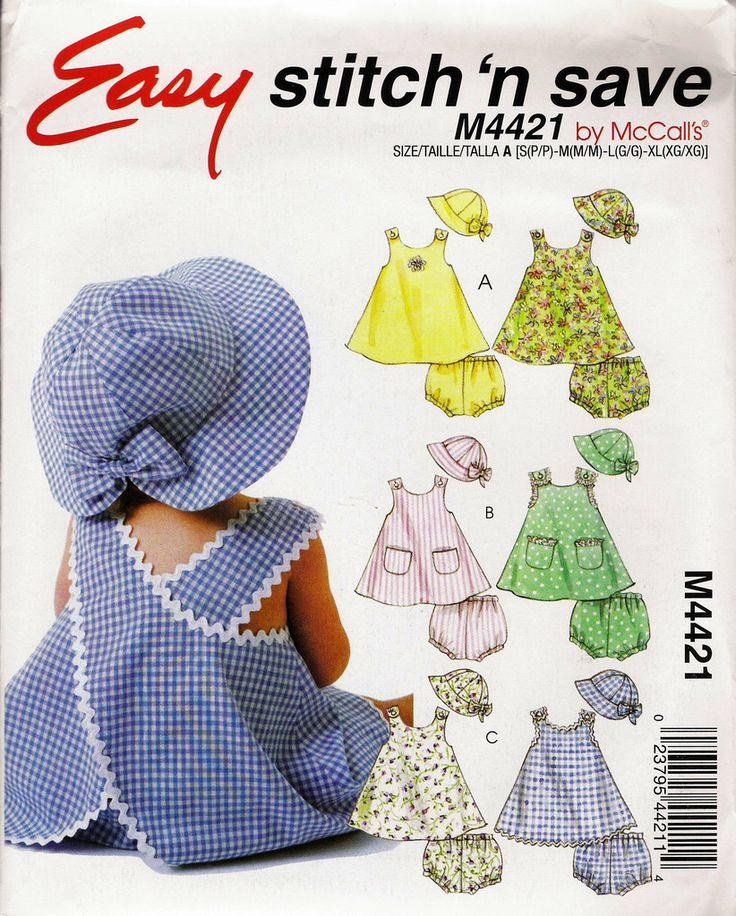 217 best McCall\'s Girls\'/Toddlers\'/Babies\' Sewing Pattern Collection ...