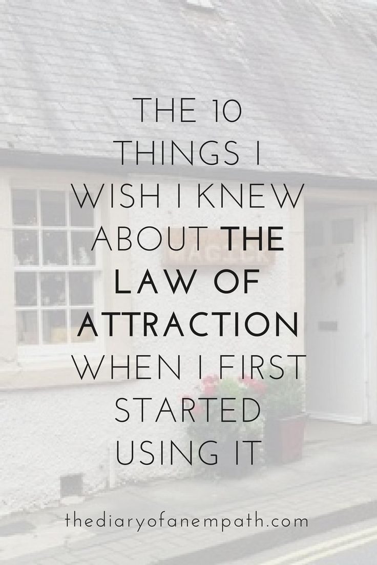 The Law Of Attraction: The Secret To Manifesting Your Dream Life More At  Www