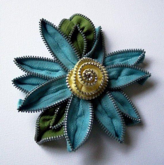crafty jewelry from zippers   make handmade, crochet, craft