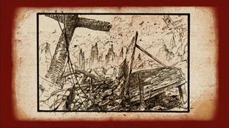 Gilgamesh Anime - Official Concept Arts Screens