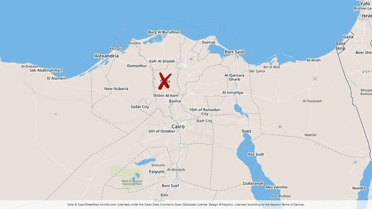 Undantagstillstånd efter bombdåden i Egypten.