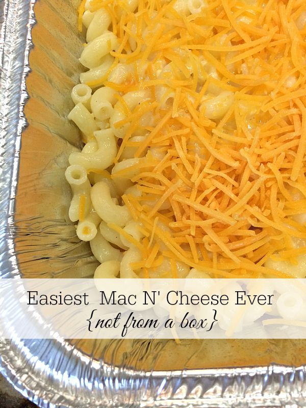 Making a meal for a friend in need or new baby? Delicious macaroni & cheese recipe and printable to put on the top of the casserole with reheating directions   11 Magnolia Lane