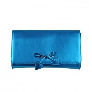 Minna Parikka Thelma Clutch Metallic Blue