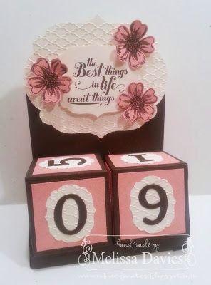Perpetual Calendar by Melissa Davies @ rubberfunatics
