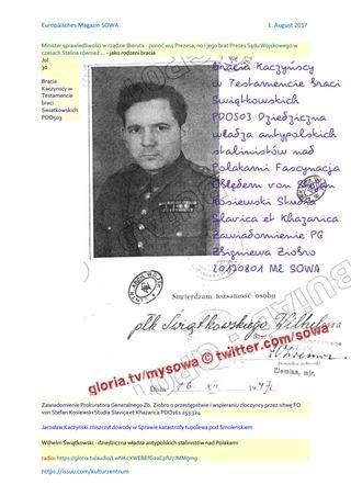 Bracia kaczynscy w testamencie braci swiatkowskich pdo503 dziedziczna wladza antypolskich stalinistó  radio: https://gloria.tv/audio/LwNKcXWEBEfG2aCpfU7JMMgmg Bracia Kaczynscy w Testamencie braci Swiatkowskich PDO503 http://sowa.blog.quicksnake.pl/Lech-Walesa/Bracia-Kaczynscy-w-Testamencie-braci-Swiatkowskich-PDO503-Dziedziczna-wladza-antypolskich-stalinistow-nad-Polakami-FO-von-Stefan-Kosiewski-SSetKh-Lech-Walesa-udzielil-wywiadu-DIE-WELT Dziedziczna wladza antypolskich stalinistów nad…