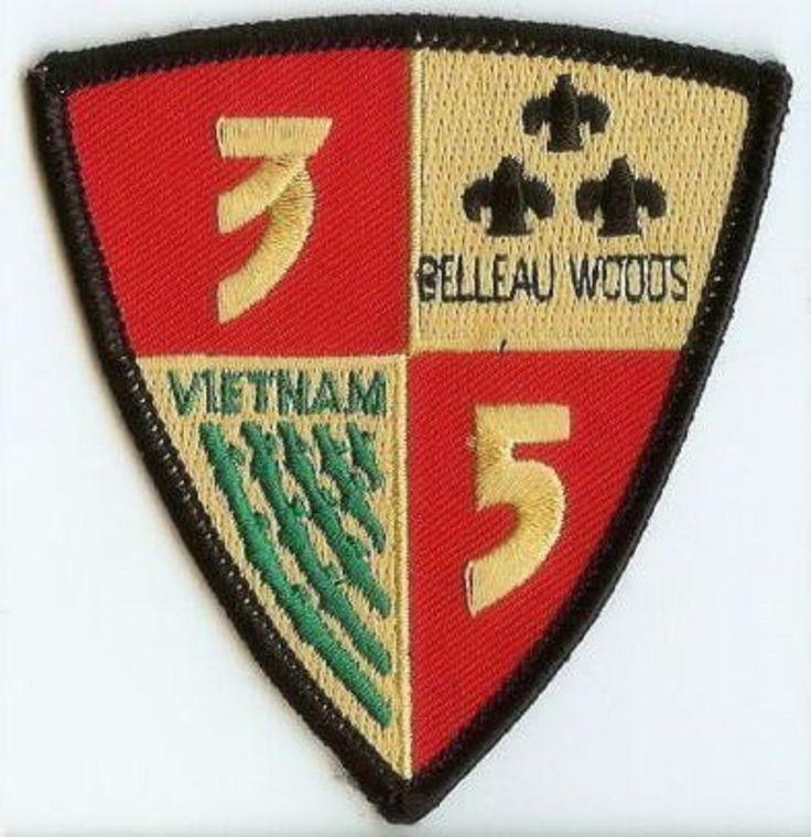 USMC 3rd Battalion/5th Marines merrowed-edge PATCH ! 3/5 Iraq! OIF 3d Bn/5th Ma