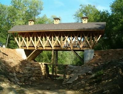 1000 images about wi main street communities on pinterest for Timber frame bridge