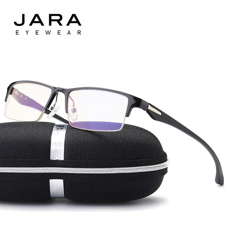promo jara titanium radiation protection hd eyeglasses frame tr90 driving computer glasses men anti #driving #glasses