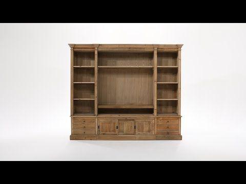 24 best Bureau images on Pinterest Bookcases, Book shelves and - Meuble Bibliotheque Maison Du Monde