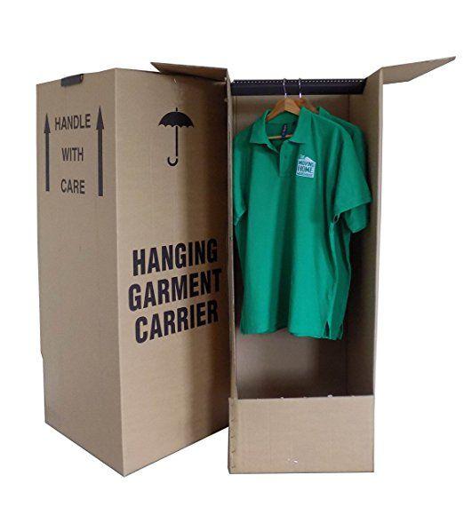 3 x Large Wardrobe/Garment Removal Boxes - 24HR DEL
