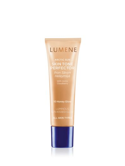 Spring 2016 Trend Report: New York City Spring Glow. Get the look with #Lumene Arctic Sun Skin Tone Perfector. #makeup #spring #trends