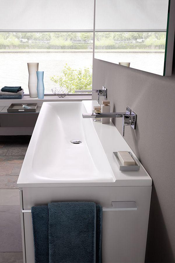 Breiter Waschtisch Badezimmer Design Bad Einrichten Waschtisch