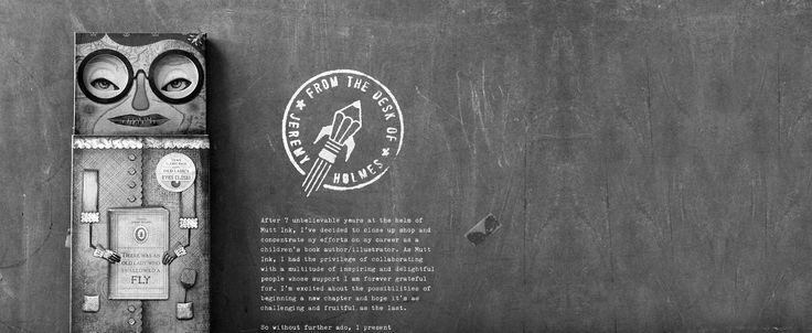 Jeremy Holmes Studio website inspiration