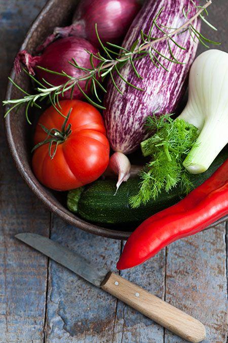 Hortalizas asadas al horno (groenten uit de oven)