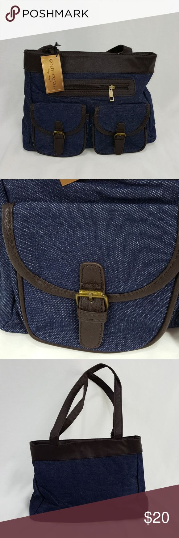 """Jean purse Gold coast jean purse. About 14"""" wide and 10"""" tall. gold coast Bags"""
