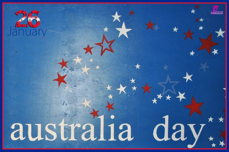 Happy Australia Day Wishes Wallpaper Card