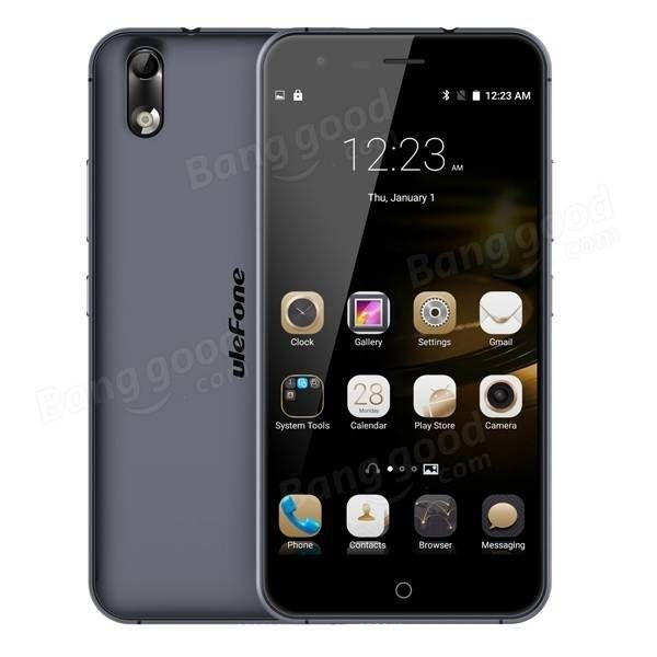 EU Direct | Ulefone Paris 5 Inch 2GB RAM Android 5.1 MTK6753 64bit Octa-core 1.3GHz 4G LTE S