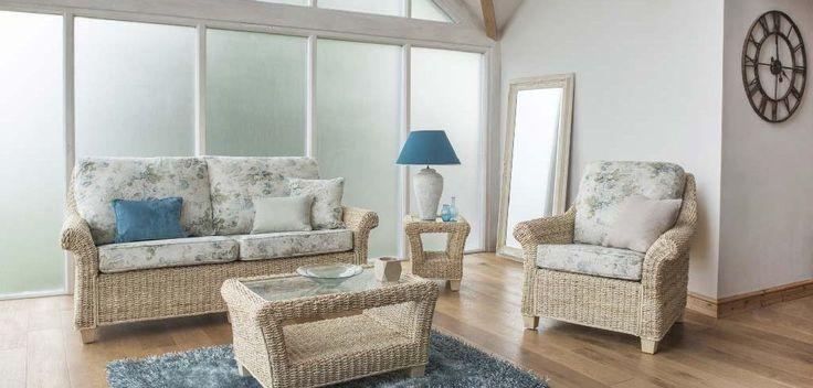 Rossby natural banana leaf conservatory or orangery furniture