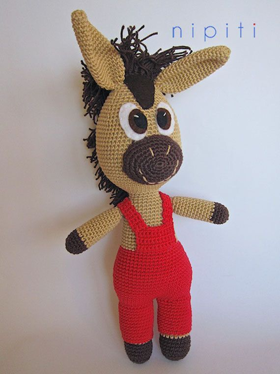 Crochet horse - Tommy The Horse