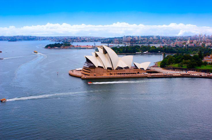 L'Opera de Sydney, un des symboles de l'Australie.