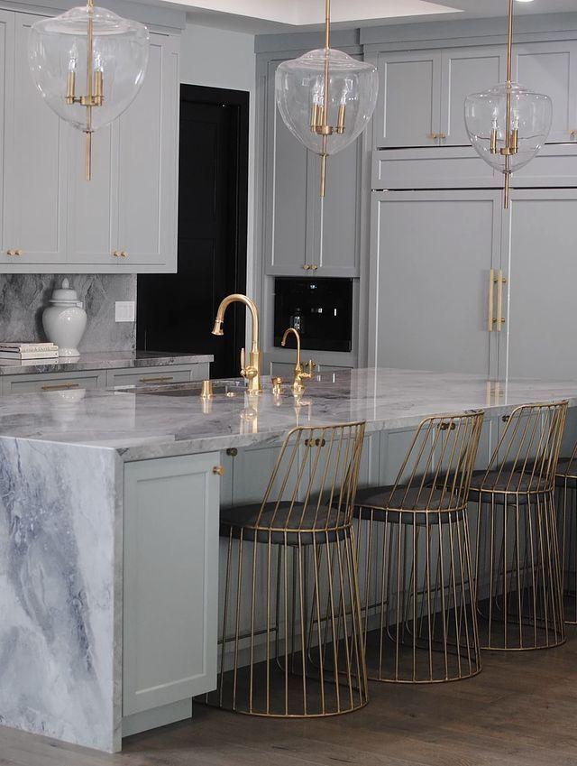 Schöne Küche Interior Design-Ideen, Farbschema, Bodenbelag, Fliesen, Zähler …, #blackmarbl…