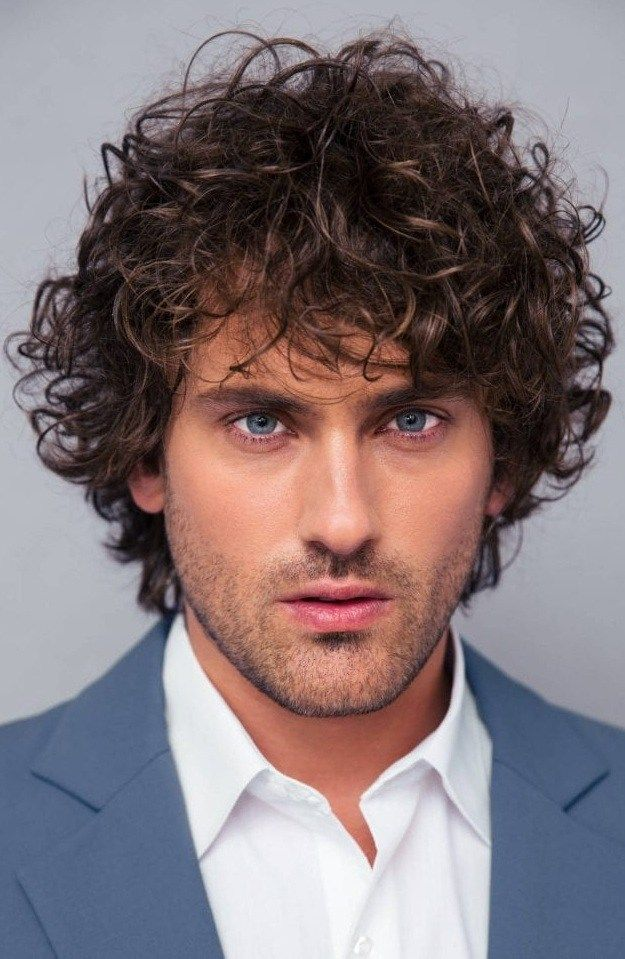 30 Best Curly Hairstyles For Men That Will Probably Suit Your Face Medium Curly Hair Styles Curly Hair Men Curly Hair Styles