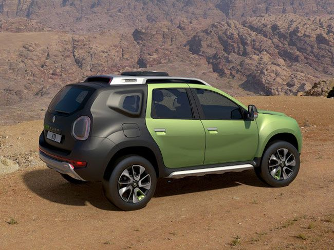 At The Sao Paulo Motor Show Renault Has Unveiled DCross Concept A Study Based On Design Of Dacia Duster And Characterized By Rugged