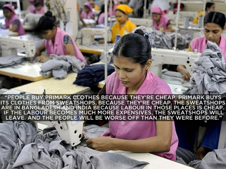 Pro: And The Telegraph's Tom Chivers chimed in too. | 8 Arguments In Support Of Sweatshop Labor