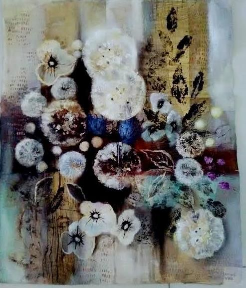 """Serie """"Conexiones creativas"""" 60*50, óleo sobre papel"""
