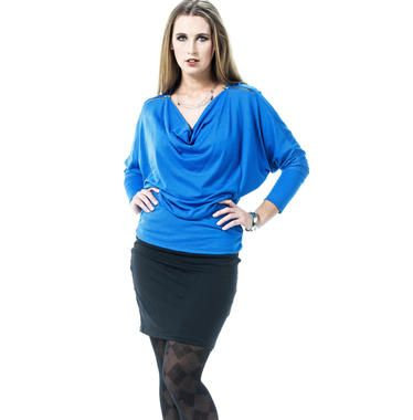 Zavarucci Zip Shoulder Merino Top