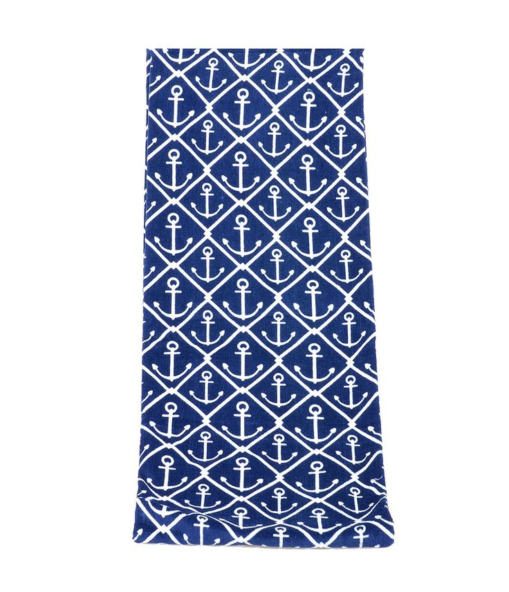 Classic #Nautical Anchor Oversized Beach Towel #uniquevintage