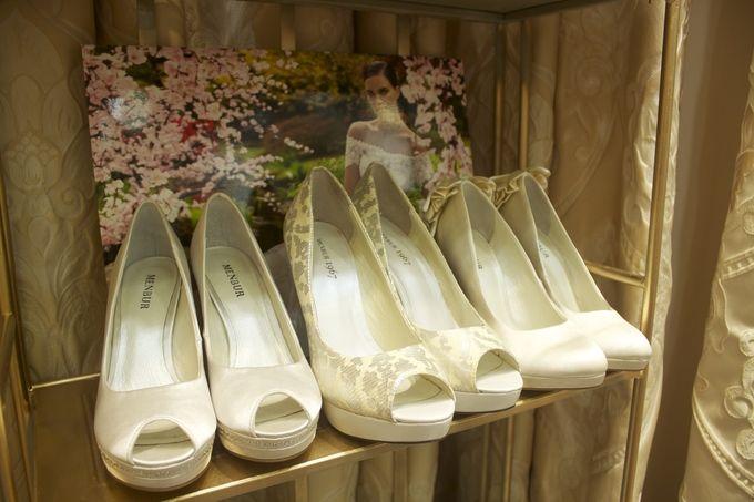 Свадебные туфли Menbur. Очень удобные!
