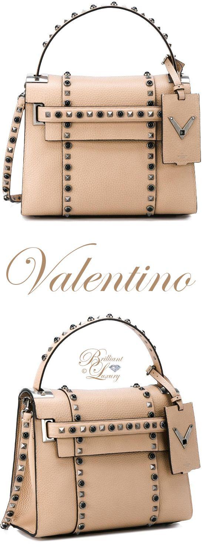 Brilliant Luxury by Emmy DE ♦ Valentino Garavani 'My Rockstud Rolling' Tote