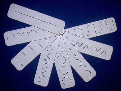 Actividades para Educación Infantil: Tarjetas de grafomotricidad
