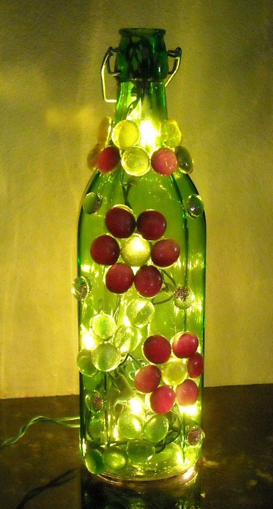 89 Best Images About Decorative Bottle Art Amp Lights On